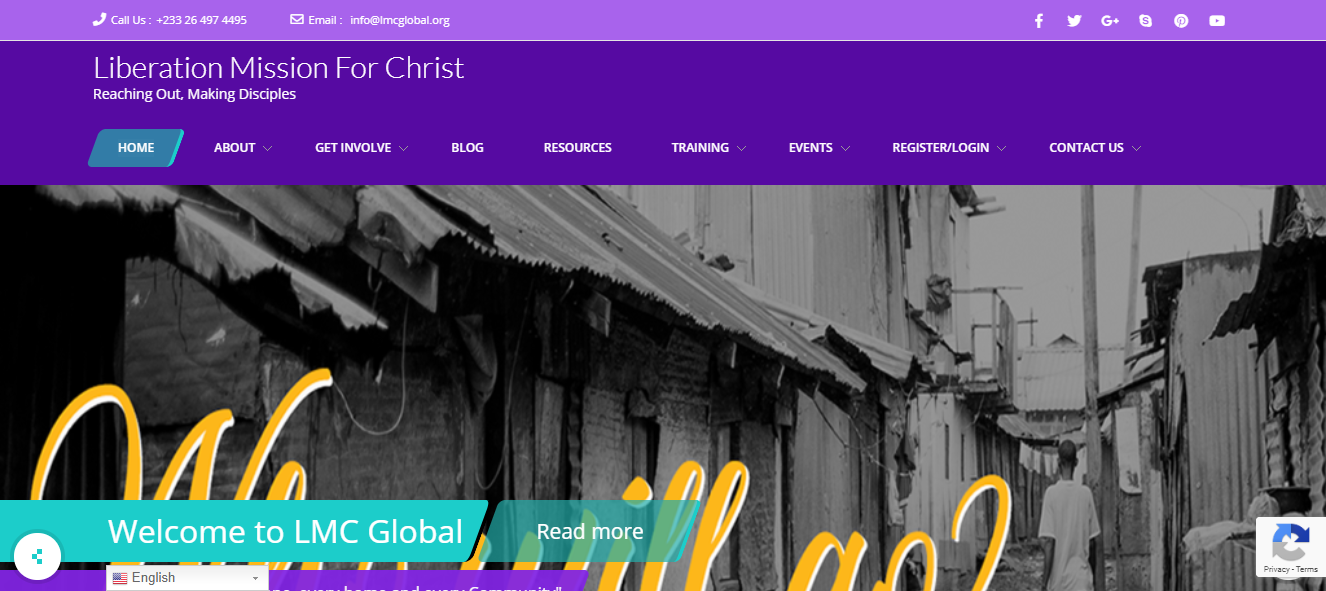 Missions Website